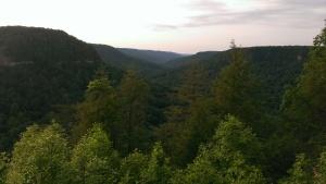 Breathtaking landscape at Fall Creek Falls