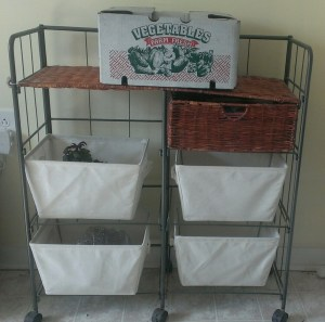 Finally replaced the baskets, adding to the list of needful purchases....