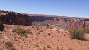Just to give you an idea of how far down we were in the canyon